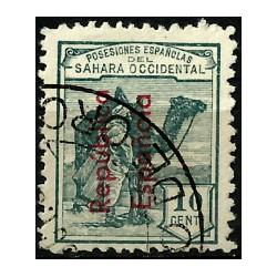 Sahara Español. 1931. 10 Céntimos (Usado)