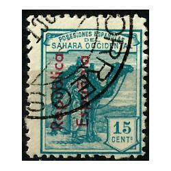 Sahara Español. 1931. 15 Céntimos (Usado)