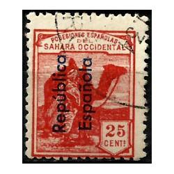 Sahara Español. 1931. 25 Céntimos (Usado)