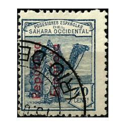 Sahara Español. 1931. 40 Céntimos (Usado)
