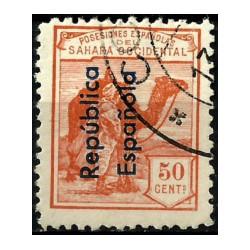 Sahara Español. 1931. 50 Céntimos (Usado)