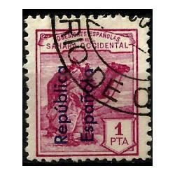 Sahara Español. 1931. 1 Peseta (Usado)