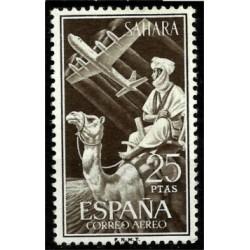 Sahara Español. 1961. 25 Pesetas. Correo Aéreo (Nuevo)