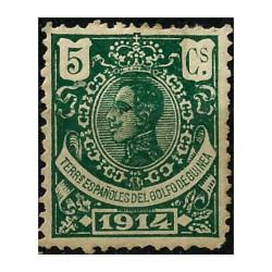 Guinea Española. 1914. 5 Céntimos. Alfonso XIII (Nuevo)