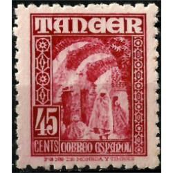 Protectorado de Marruecos (Tanger). 1948-51. 45 Céntimos (Nuevo)