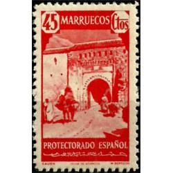 Protectorado de Marruecos. 1940. 45 Céntimos. Xauen (Nuevo)