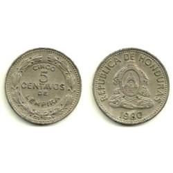 (72.2) Honduras. 1980. 5 Centavos (MBC)