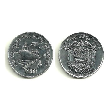 (132) Panamá. 2000. 1 Centesimo (SC)