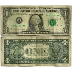 (480b) Estados Unidos de América. 1988A. 1 Dollar (BC-)