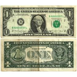 (480c) Estados Unidos de América. 1988A. 1 Dollar (MBC-)