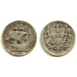 (580) Portugal. 1944. 2½ Escudos (MBC) (Plata)