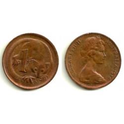 (62) Australia. 1975. 1 Cent (EBC)