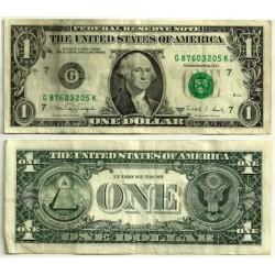 (480c) Estados Unidos de América. 1988A. 1 Dollar (BC+)
