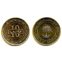 (17) Bahrain. 2000. 10 Fils (SC)