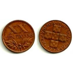 (584) Portugal. 1965. 20 Centavos (EBC+)