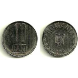 (191) Rumania. 2009. 10 Bani (EBC)