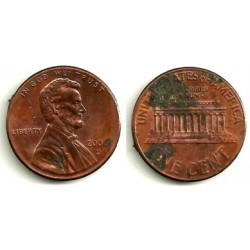 (201) Estados Unidos de América. 2006(D). 1 Cent (MBC-)