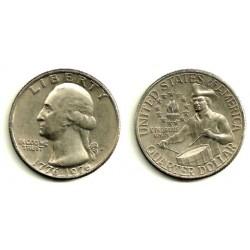 (204) Estados Unidos de América. 1976(D). Quarter Dollar (MBC+)