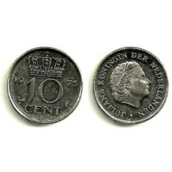 (182) Paises Bajos. 1973. 10 Cents (MBC)