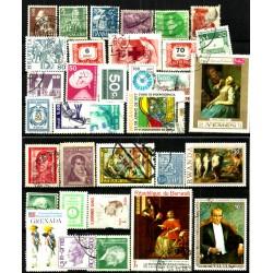 Lote de sellos de varios paises (34 uds)