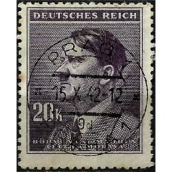 (81) Bohemia y Moravia (Ocupación Alemana). 1942. 20 Koruna (Usado)