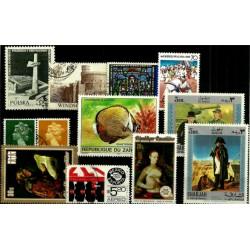 Lote de sellos de varios paises (12 uds)