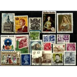 Lote de sellos de varios paises (19 uds)
