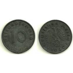 (101) Alemania (III Reich). 1940(J). 10 Pfennig (MBC)