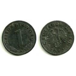 (97) Alemania (III Reich). 1942(A). 1 Pfennig (EBC+)