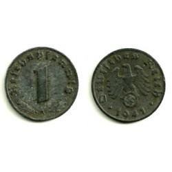 (97) Alemania (III Reich). 1942(A). 1 Pfennig (MBC)