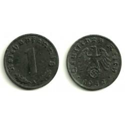 (97) Alemania (III Reich). 1942(A). 1 Pfennig (EBC-)