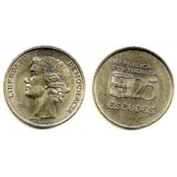 (607a) Portugal. 1981. 25 Escudos (MBC)