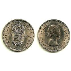 (904) Gran Bretaña. 1966. 1 Shilling (SC)