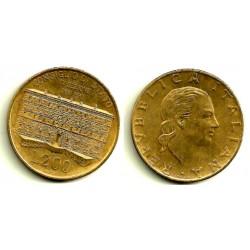 (135) Italia. 1990. 200 Lira (EBC-)