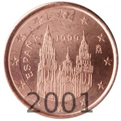 España 2001 1 Céntimo (SC)
