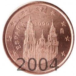 España 2004 2 Céntimos (SC)