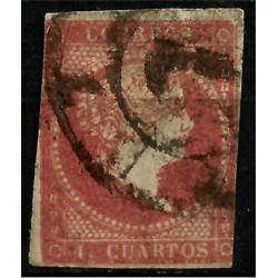 (48) 1855. 4 Cuartos. Isabel II (Usado)