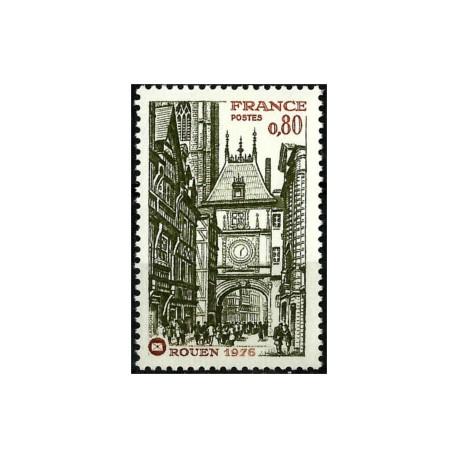 (1476) Francia. 1976. 0,80 Francs. Rouen (Nuevo)