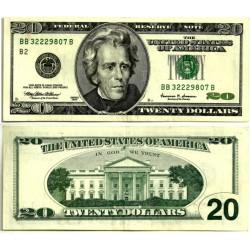 (512) Estados Unidos de América. 1999. 20 Dollars (EBC)