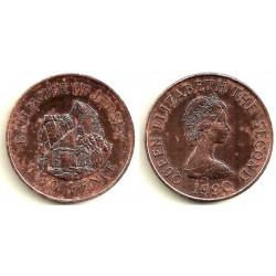 (55) Jersey. 1990. 2 Pence (EBC)