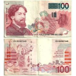 (147) Bélgica. 1995. 100 Francs (MBC-)