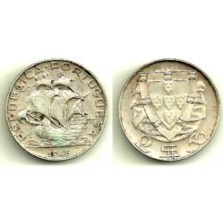 (580) Portugal. 1945. 2½ Escudos (EBC) (Plata)