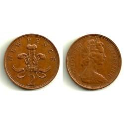 (916) Gran Bretaña. 1971. 2 Pence (MBC)