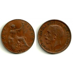 Gran Bretaña. 1921. Half Penny (MBC)
