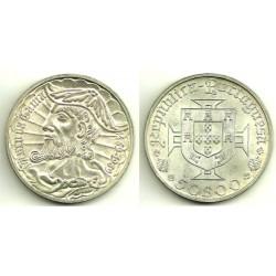 (598) Portugal. 1969. 50 Escudos (EBC) (Plata)