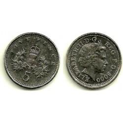 (988) Gran Bretaña. 2000. 5 Pence (MBC)