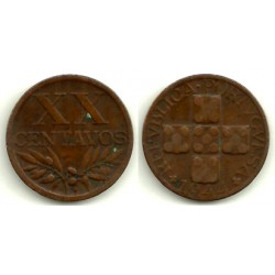 (584) Portugal. 1944. 20 Centavos (MBC)
