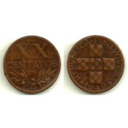 (584) Portugal. 1949. 20 Centavos (MBC-)