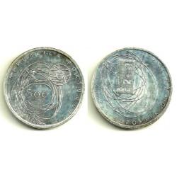 (733) Portugal. 2001. 500 Escudos (SC) (Plata)