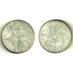 (604) Portugal. 1974. 250 Escudos (SC) (Plata)